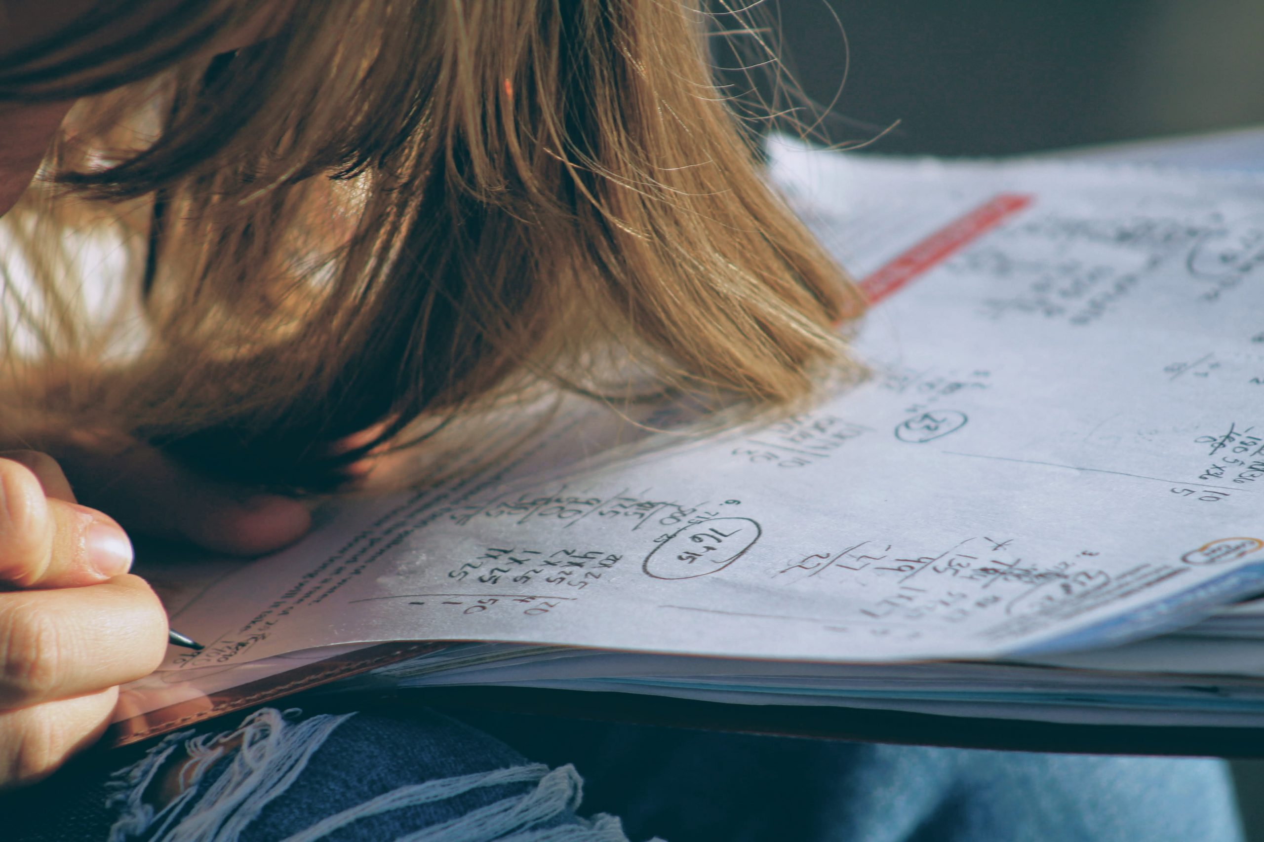 How to Do Math Homework & Who May Help