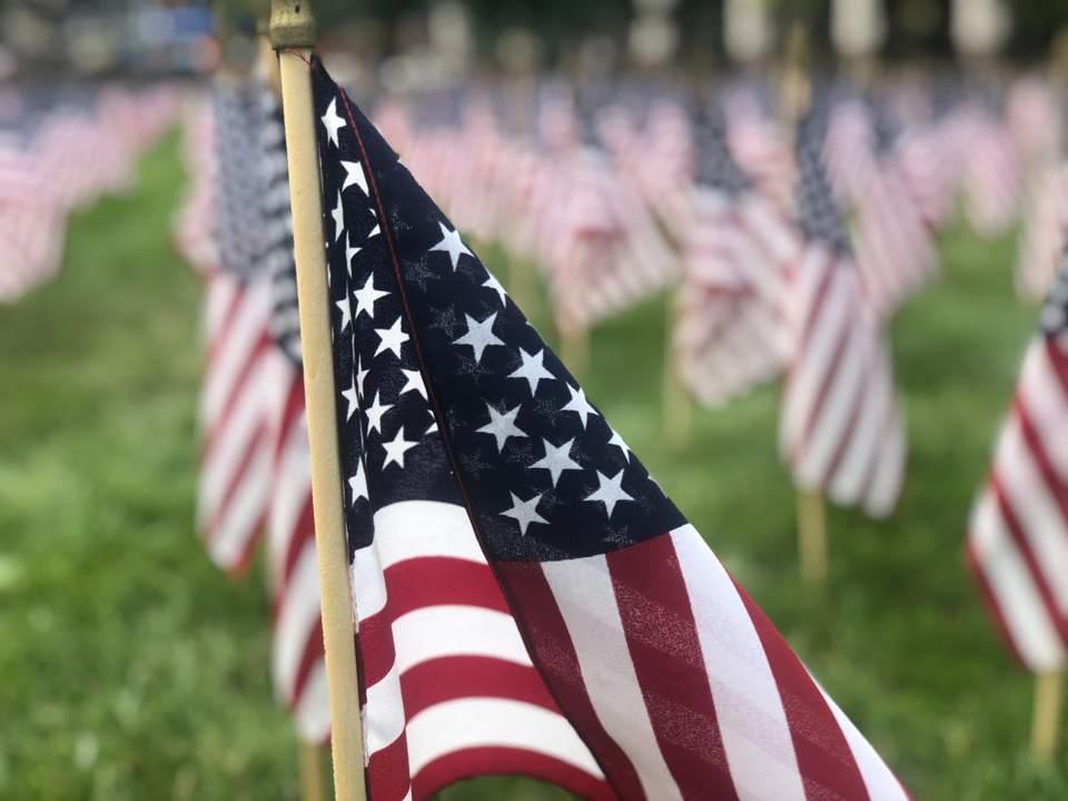 American flag essay writing